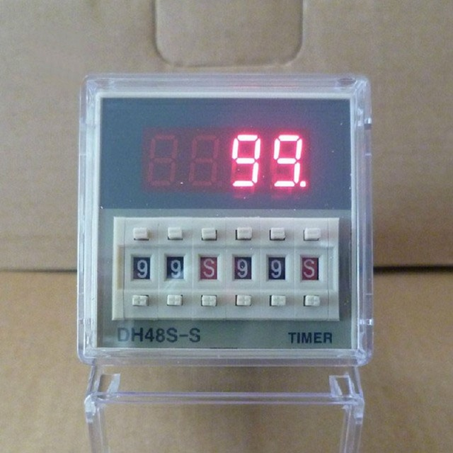 110VAC DH48S-S Repeat Cycle 3A Multifunction Digital Timer Relay On Delay SPDT