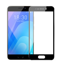 Full Cover Tempered Glass for Meizu M5 M6 Note M6T Pro 7 Plus Screen Protector for Meizu M3E ME2 U20 U10 15 Plus MX MA5(China)