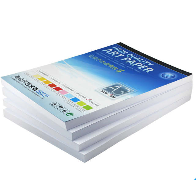 A3 White Cardboard 240 315g Art Paper Hard Card Paper 50 Sheets Pack