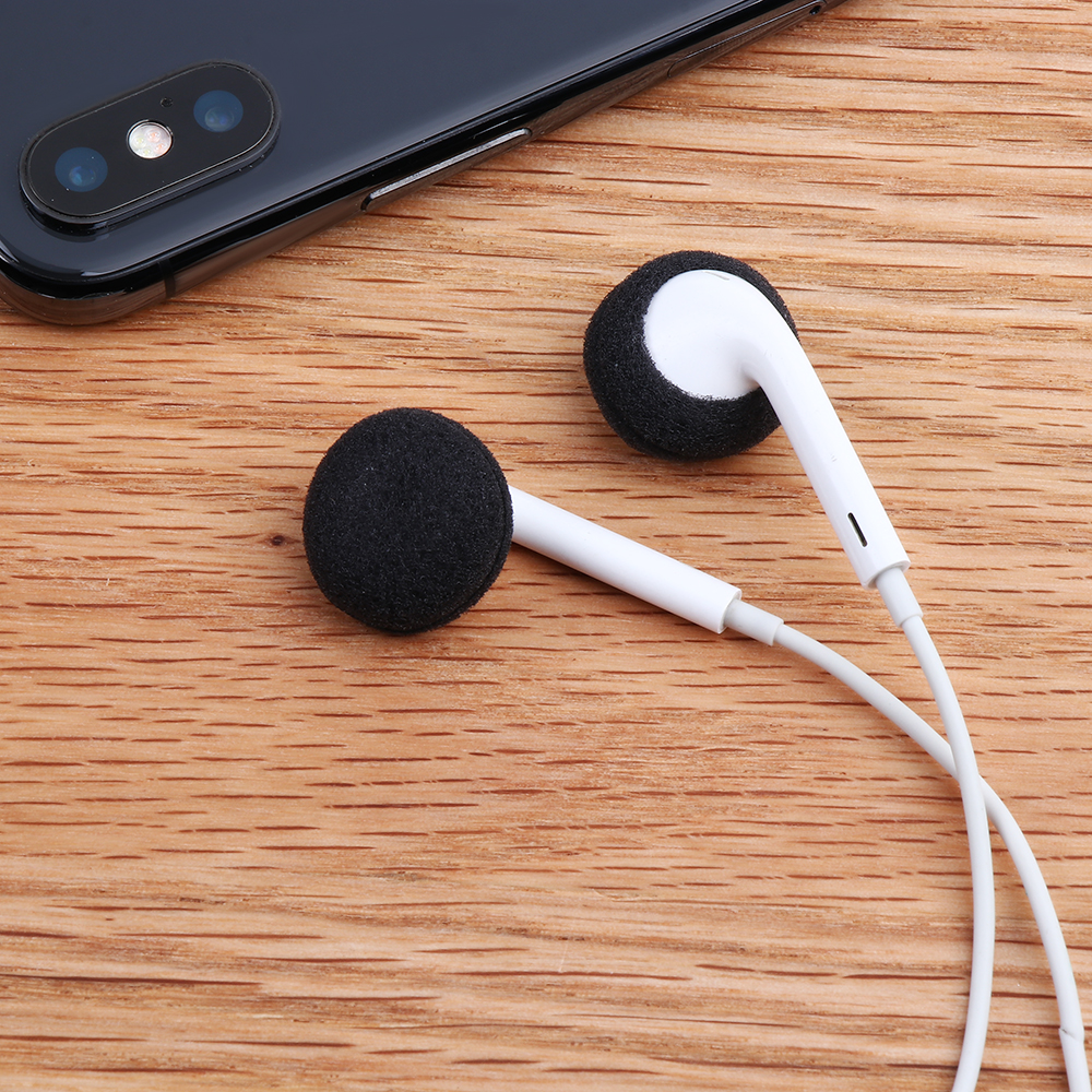 US $0.68 26% OFF 2 Pack 40 PCS Soft Foam Replacement Earphone Foam Cover Sponge Ear Pad Case For Airpods Earpods Anti Slip Sponge Earpad Earphone