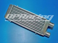 UNIVERSAL FRONT MOUNT TURBO ALUMINUM INTERCOOLER Coresize : 450 x 180 x 65mm / Oversize:630 x 180 x 65mm/ 2.5 Inlet/Outlet