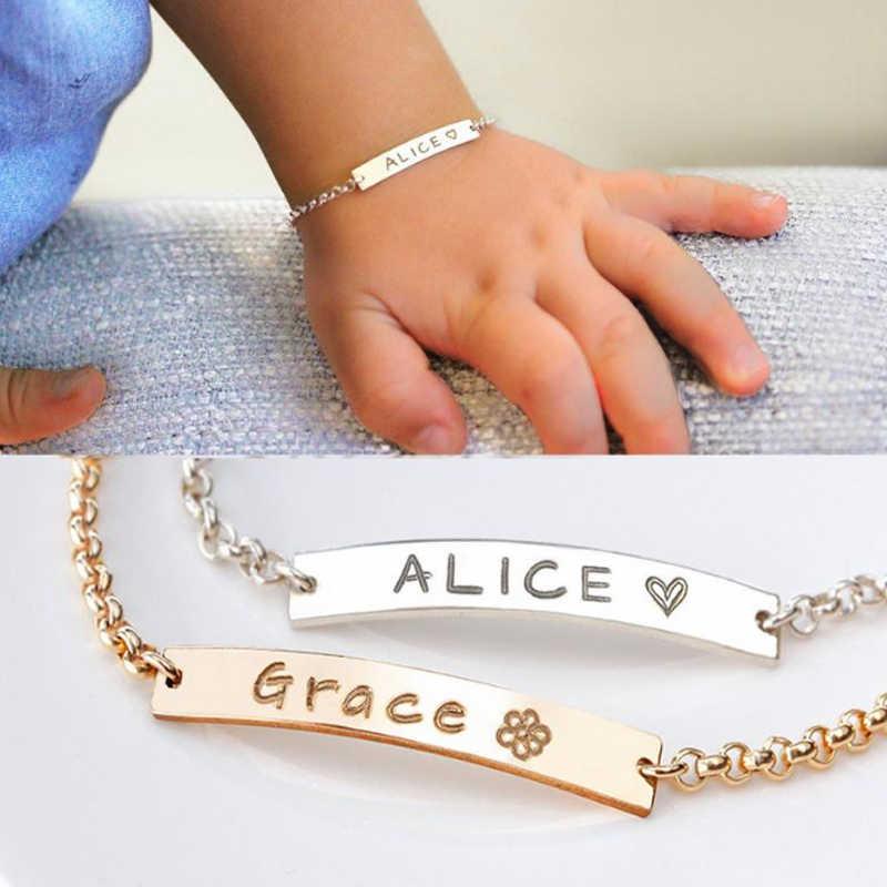 Gold Bracelet Baby Jewelry Custom