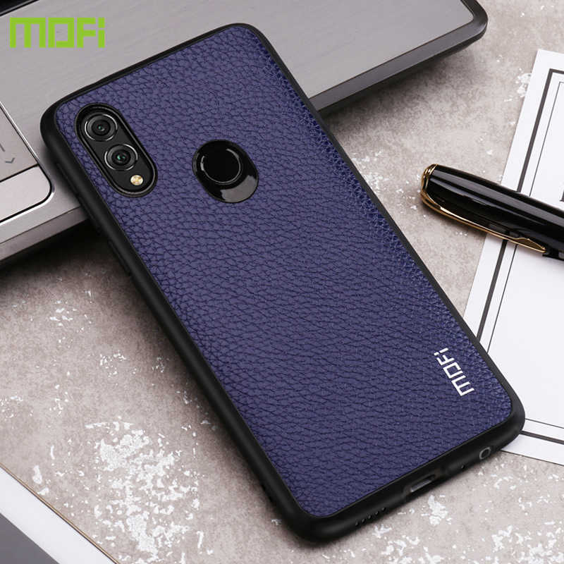 For Huawei Honor 8X Case For Huawei Honor 8X Max  Case Mofi For Honor 8X Case Cover Pu Leather Back Cover Hard Business Style