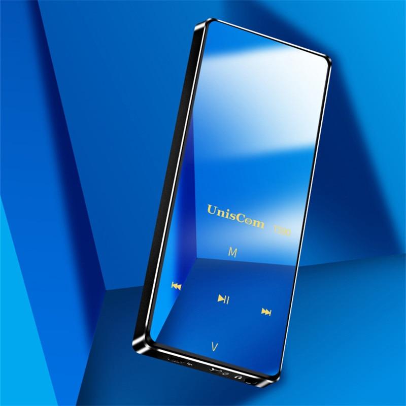Mp4 Player Bluetooth Mp4 Fm Radio Mini Walkman Musik Player Tf Karte Lange Standby Mp3 Hifi Schwere Bass Sound Qualität Ist Klar Und Stabile 4g8g Produkte HeißEr Verkauf