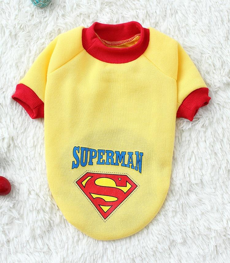 Pet Dog Puppy Bomull Superman Kläder, Halloween Kläder Kostymer - Produkter för djur - Foto 6