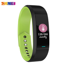 New SKMEI Color Touch Screen Men Women Smart Bracelet Heart Rate Sleep Blood Oxyg Pressure Monitor Sport Wristbands