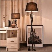 163cm England Design Floor Lamp in Iron Barrel