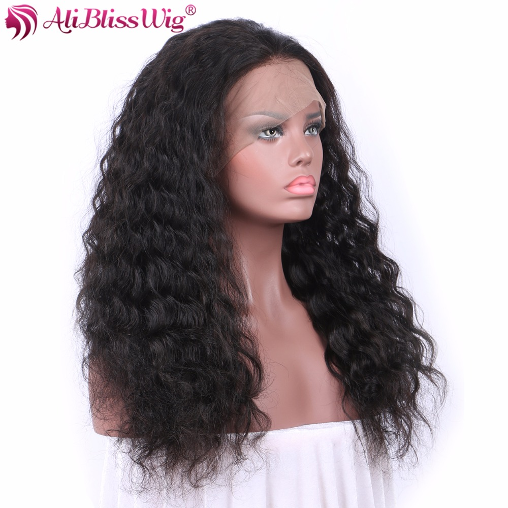 Aliexpress Com Buy Aliblisswig Curly 360 Lace Frontal