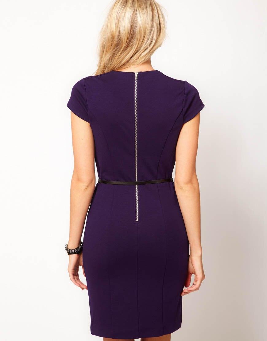 Purple Business Dresses