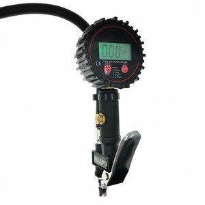 Image 4 - Inflação Do Pneu Do Caminhão Do Carro Digital para Armas Ferramenta de Monitoramento de Pressão de Ar Do Pneu Inflator Medidor Display LCD Dial Medidor Veículo Tester