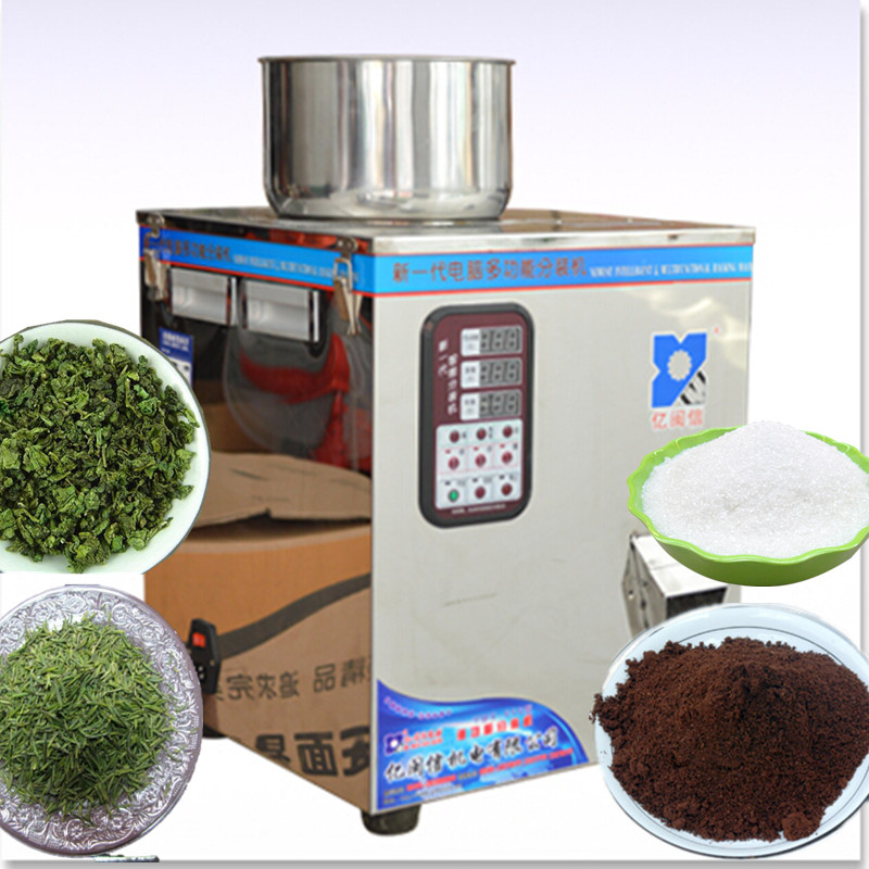 1g-100g automatic powder filling machine, Powder measurement racking machine,special for viscouspowder packaging machine cursor positioning fully automatic weighing racking packing machine granular powder medicinal filling machine accurate 2 50g