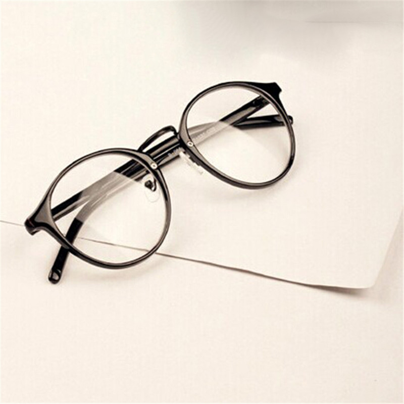 2018 Fashion Men Women Retro Glasses Clear Lens Eyewear ...