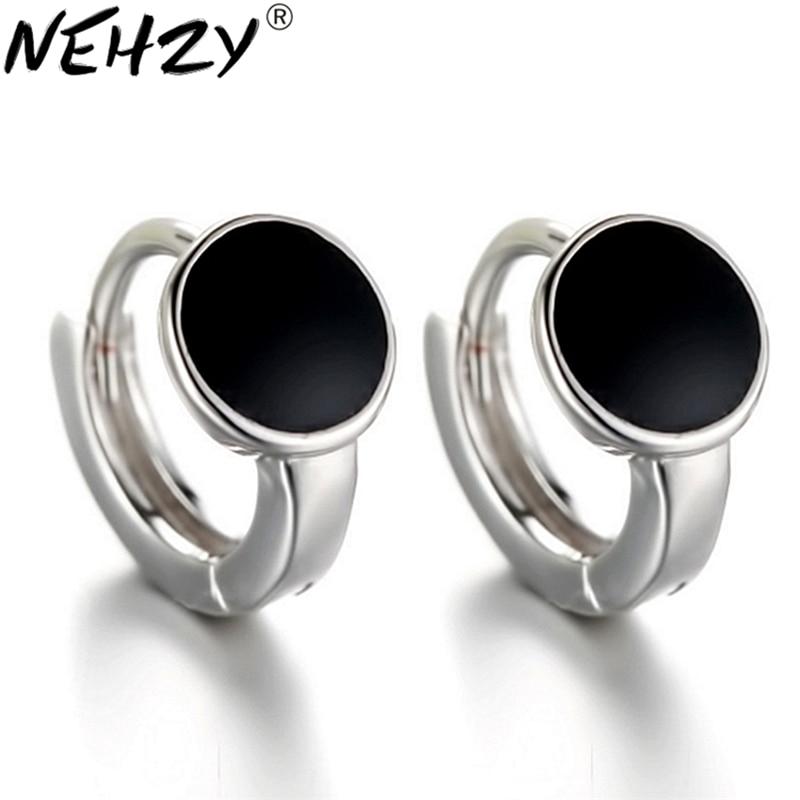 10265c08a1fe Nehzy pendientes de plata sra. 2016 nueva moda precioso regalo de boda  pendientes retro popular alta calidad del vinilo