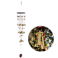 Wind Chimes 18 Bells Copper Feng Shui Goods for Yard Garden Decoration Outdoor Wind bell Mascot Gifts