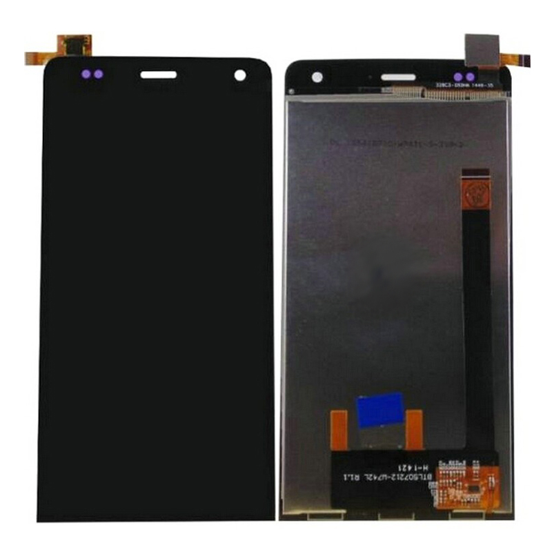 imágenes para De alta calidad para wiko getaway pantalla lcd con pantalla táctil digitalizador asamblea reemplazo para wiko getaway tp + lcd negro