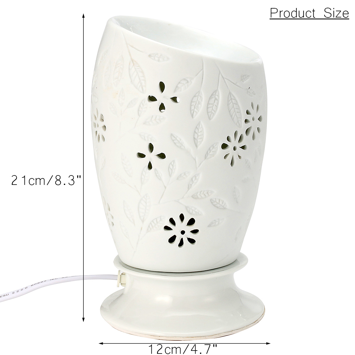 Fasion Electric Fragrance Diffuser aromatherapy Humidifier Ceramic ... for Electric Fragrance Diffuser Lamp  545xkb