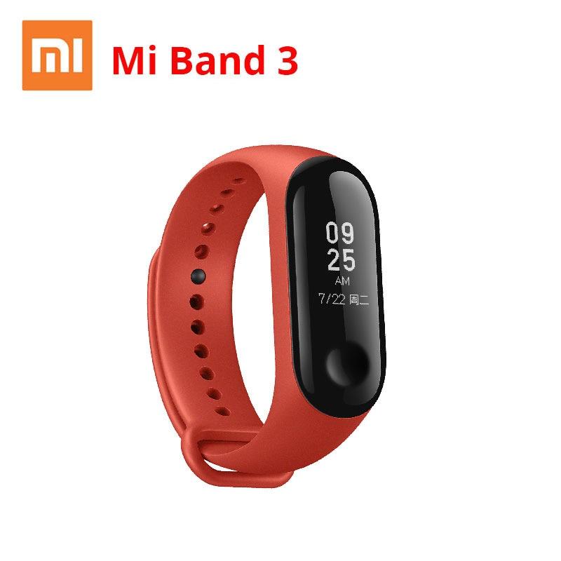 Xiaomi Mi Band 3 Miband 3 Smart Wristband With Black Orange Blue Touch Screen  Heart Rate Fitness Tracker WaterproofXiaomi Mi Band 3 Miband 3 Smart Wristband With Black Orange Blue Touch Screen  Heart Rate Fitness Tracker Waterproof