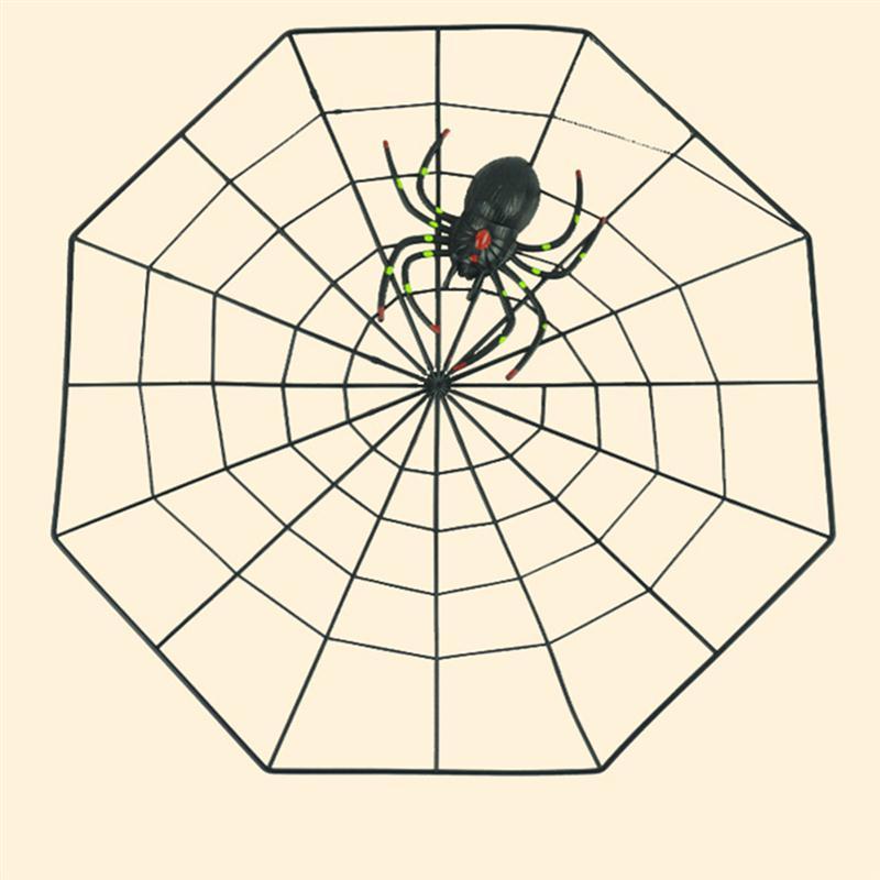 Fake Spider Spider Web Horror Halloween Decoration Event Party