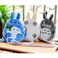 Una Pieza Lindo Mi Vecino Totoro Juguetes de Peluche Rompecabezas Moneda bolso Del Bebé Juguetes Para Niños Suave Kawaii Animación Totoro Bebé juguetes