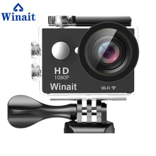 Winait Full hd 1080p waterproof action digital video camera with 2.0'' TFT display and 170 degree wide angle digital sports