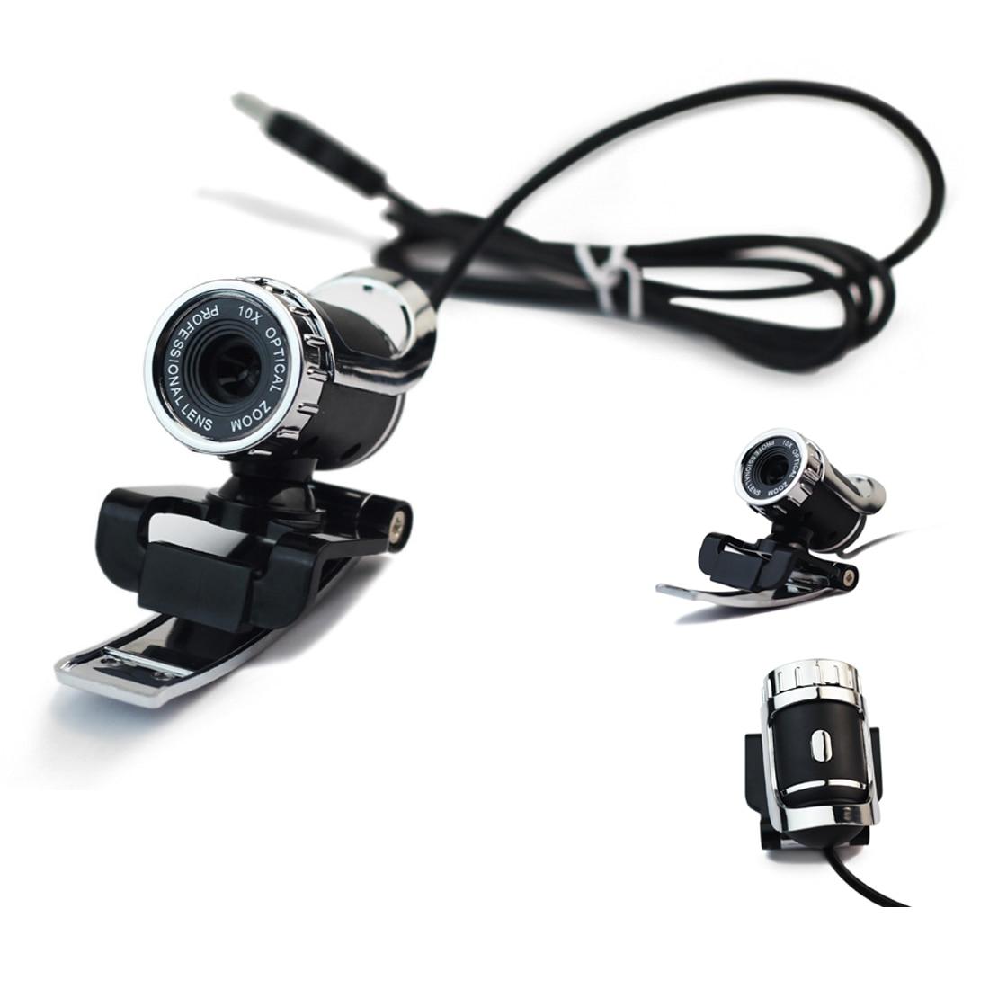 NOYOKERE Newest Webcam USB 12 Megapixel High Definition Camera Web Cam 360 Degree MIC Cl ...