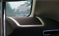Interior Rear Speaker Cover Trim 2pcs For BMW 7 Series F01 2010 2011 2012 2013 2014