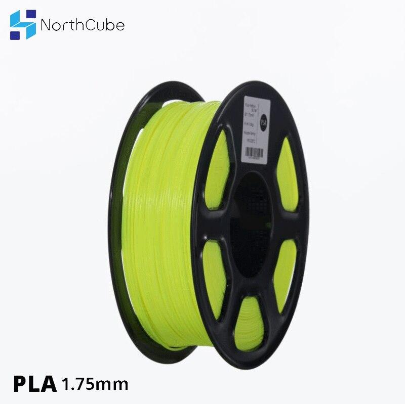 Filamento PLA de impresora 3D 1,75mm para impresoras 3D, 1kg (2,2lbs) +/-0,02mm color fluorescente-amarillo KIT de actualización PLA 2,0 Asistente de estacionamiento frontal 4K a 12K para VW Tiguan 5N 3AA 919 475 M/S