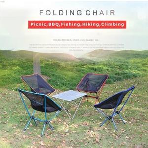 Image 5 - Leichte Kompakte Faltung Camping Rucksack Stühle, Tragbare Faltbare Stuhl für Outdoor, Strand, Angeln, Wandern, picknick, Reise