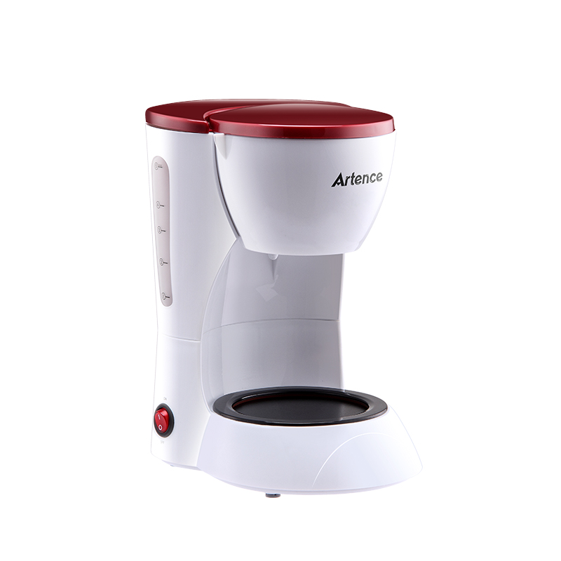 High-quality Automatic Electric Coffee Maker 5 Cups Espresso White Drip Coffee Machine With ...