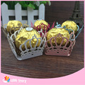 50pcs Crown Prince Paper Candy Bar Chocolate Packaging Bar Laser Cut Birtday Decoration Kids Party Supplies Wedding Decoration