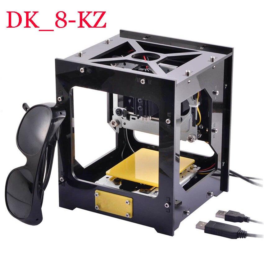 1PC 1000mW DIY USB Laser Engraver Printer Cutter Engraving Machine DK-8-KZ DIY Laser Carving Machine Protective Glasses dk 8 kz 1000mw diy usb laser engraving machine