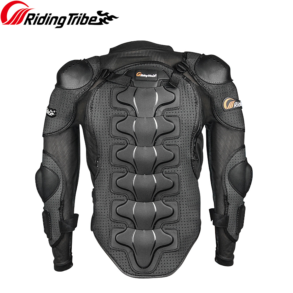 Riding Tribe Motorcycle Racing Body Armor Motocross Jacket Off-Road Safety Protection Clothing Chest Spine Protector Gear HX-P13 herobiker armor removable neck protection guards riding skating motorcycle racing protective gear full body armor protectors
