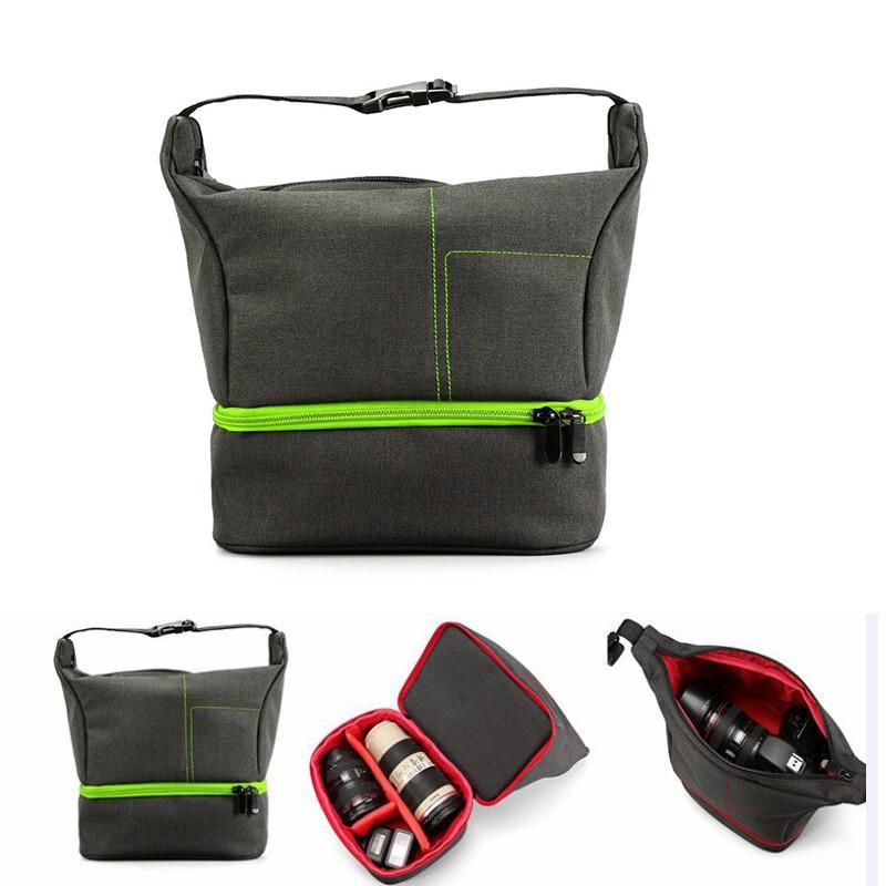 Digital Gear Bags Sporting Digital Slr Camera Bag Shoulder Bag For Nikon D810 D750 D610 B700 P900 D7200 D5300 D3400 D90 Outdoor Waterproof Camera Backpack Exquisite Craftsmanship; Camera/video Bags