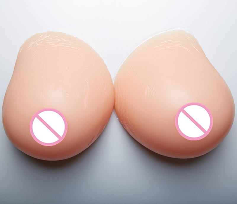 Buy Breast Forms Crossdresser 6000g/pair Huge Breast Form Artificial Breast Silicone Breast Prosthesis Drag Queen False Boobs