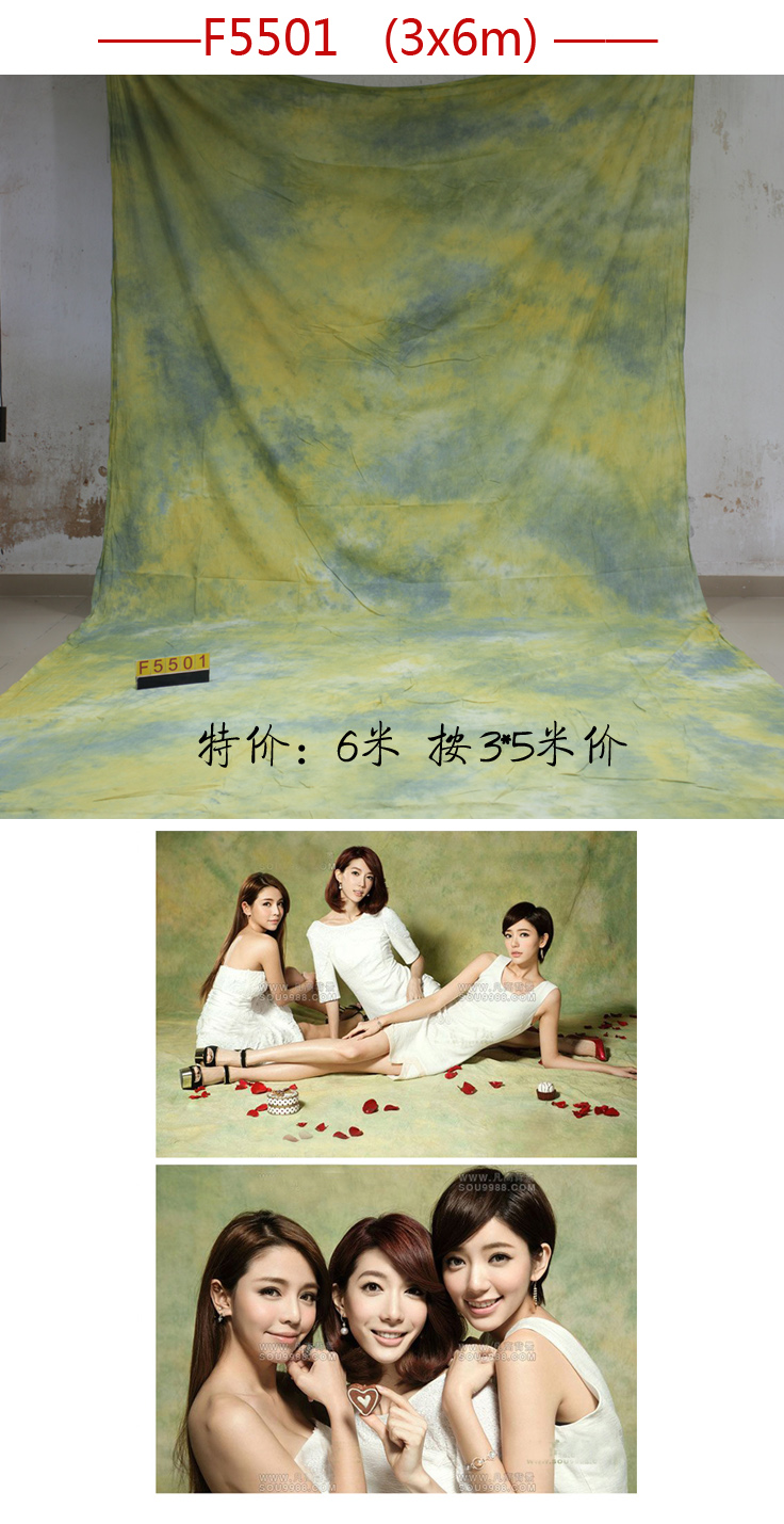 Professional 3m*6m Tye-Die Muslin wedding Backdrop F5501,photography backgrounds for photo studio,wedding backdrops