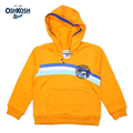 Meney's / OshKosh 2017 Rainbow Surf Hawaii Hoodies for Boys Casual Sweatshirts Orange Children Full Sleeves Clothes Kids Hooded