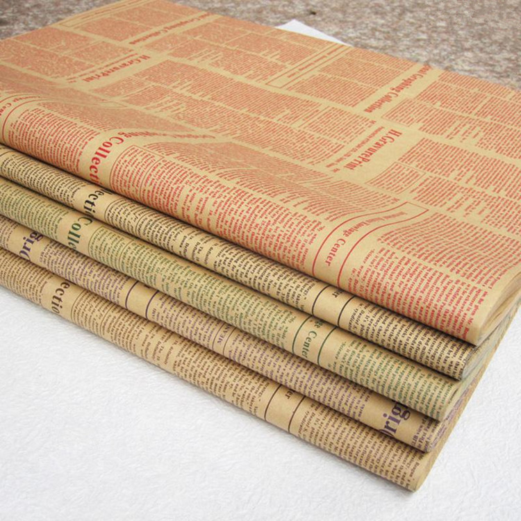 online buy wholesale newspaper wrapping paper from china newspaper wrapping paper wholesalers. Black Bedroom Furniture Sets. Home Design Ideas