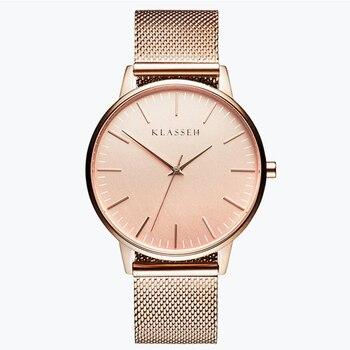 fashion Women Watches Brand Top Luxury Ultrathin 40mm Casual Rose Gold Quartz Wristwatches Relogio Feminino Montre Femme Reloje Наручные часы