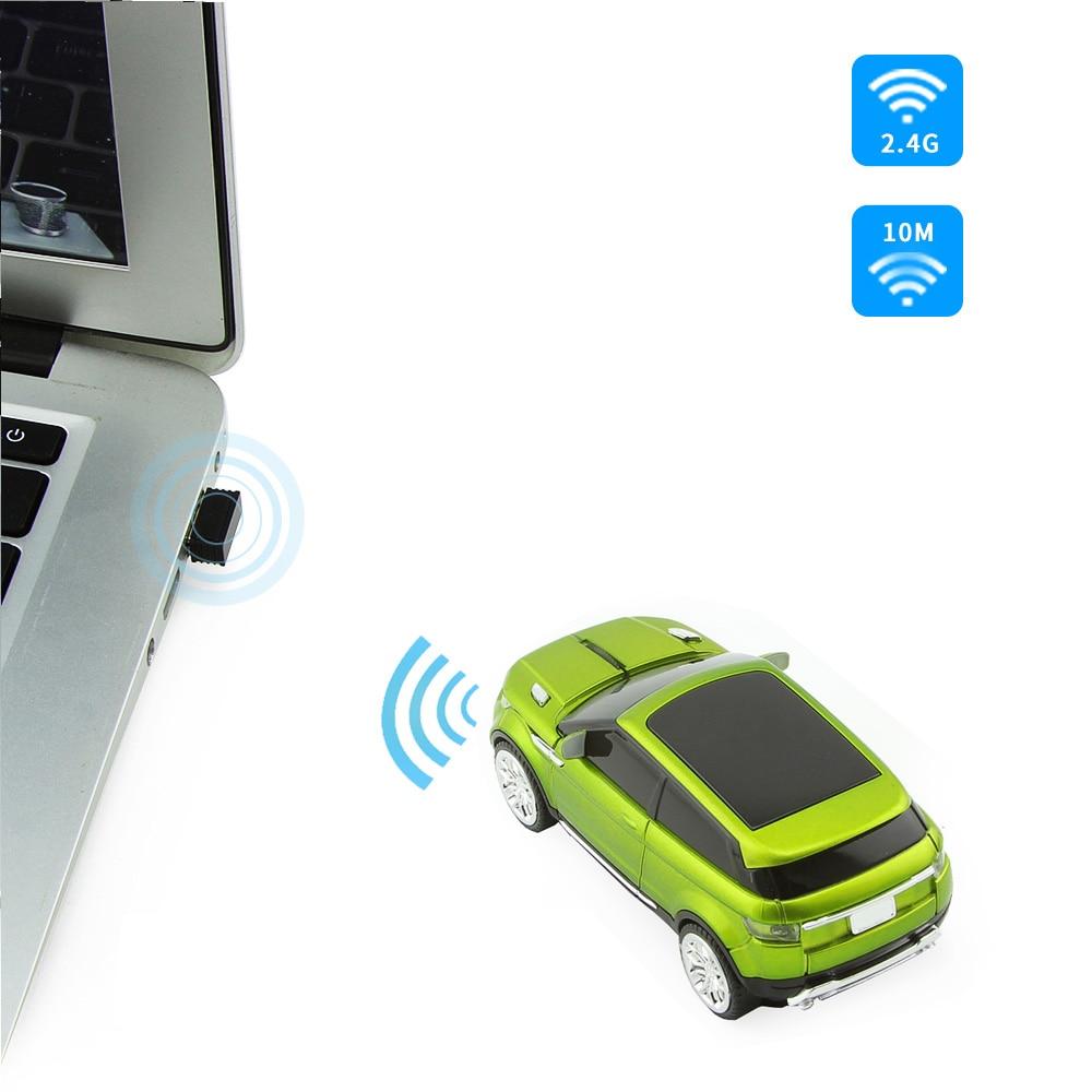Անլար մկնիկի Racing մեքենայի մկնիկ 2.4 ԳՀց - Համակարգչային արտաքին սարքեր - Լուսանկար 3