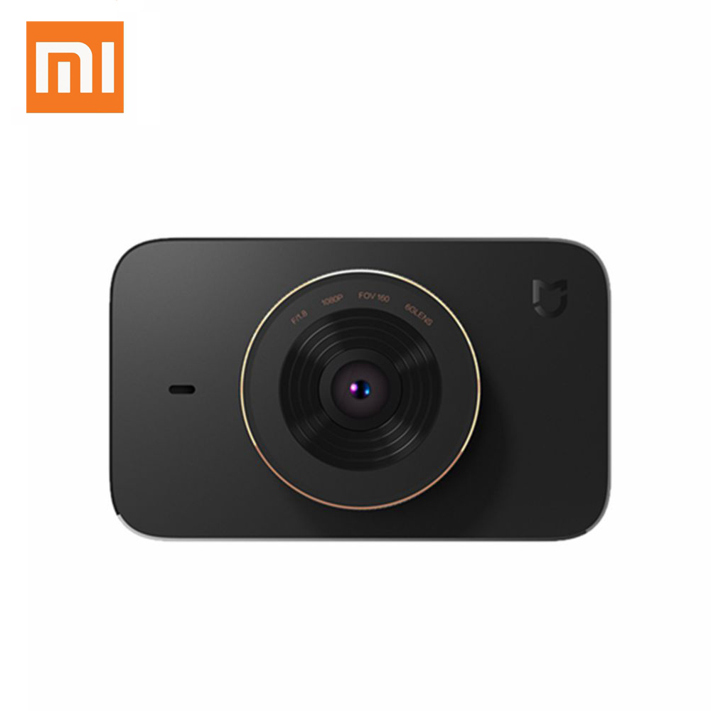 Original <font><b>Xiaomi</b></font> MIJIA 3.0 Inch <font><b>DVR</b></font> 1080P WIFI Parking Monitoring Digital Video Recorder With 160 Degree Wide Angle China Version image