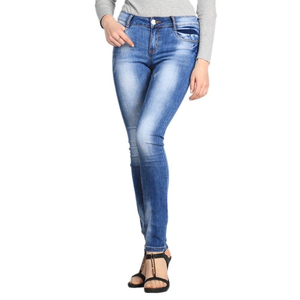 SheXiang Mrs 2016 Jeans Women Pencil Pants High Waist Jeans Sexy Slim Elastic Pants Trousers Fit Lady Jeans Plus Size W219