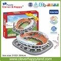 China FC  Stadium 3D Puzzle Model Paper Guangzhou Tianhe' stadium DIY puzzle paper model