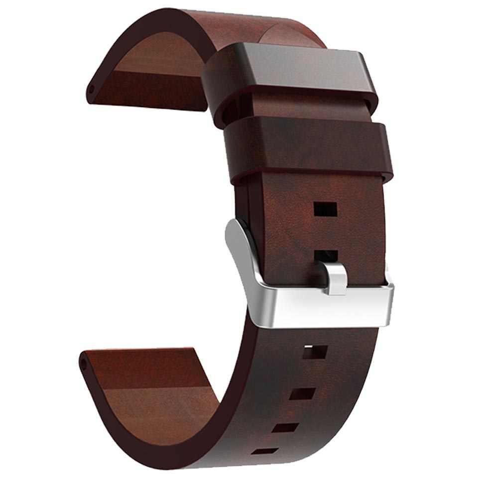 20 millimetri di lusso cinturini in pelle per Garmin Fenix 5 s Cinturino Da Polso di Sport Intelligente Per Le Donne Degli Uomini di fascia da polso genuino Cinturino In Pelle