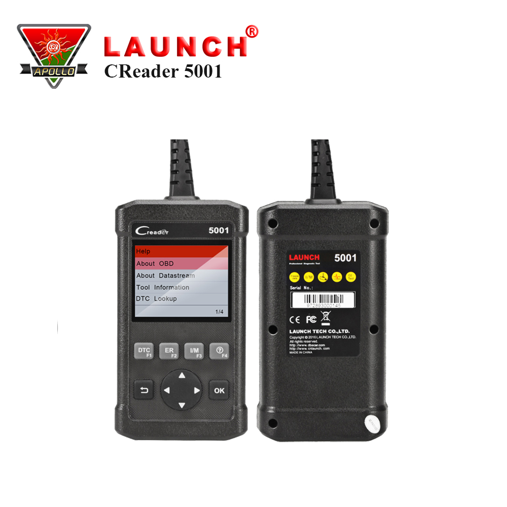 купить Launch CReader 5001 Code Reader Diagnostic Tool Full Functions OBD2 Scanner with O2 Sensor Test and On-board Monitor Test по цене 4079.17 рублей