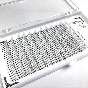 Image 5 - 1box große kapazität Russische Volumen Wimpern 3D Wimpern Extensions 0,07mm Dicke C D wellung Nerz Streifen Wimpern Individuelle wimpern