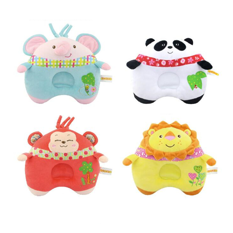 Baby Pillow Light Weight Comfortable Multi-Color Cartoon Neck Travel Pillow Automatic Neck Support Head Rest Cushion