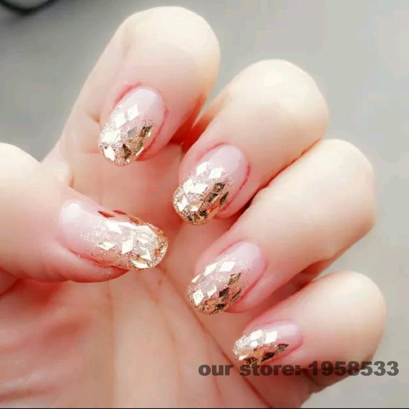 2mm Diamond Shape Rhombus Diy Uv Nails Art Tips Toes Large Prismatic