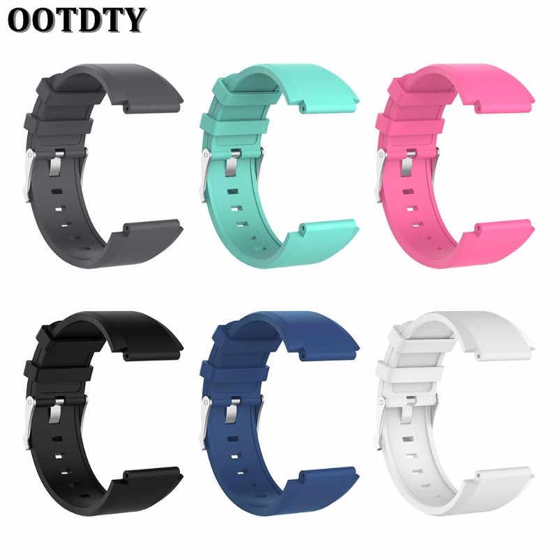 OOTDTY силиконовый сменный ремешок на запястье браслет часы для sony Smartwatch 2 SW2 - 11.11_Double