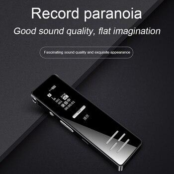 561139b26412 K706 profesional dictáfono mini encubierta grabadora de voz digital MP3  reproductor de música ...