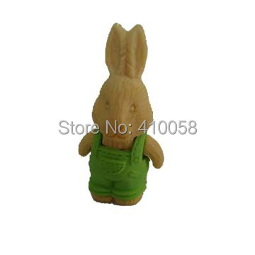 Kawayi Mixed Colors Animal Eraser Rabbit Eraser ,children School Stationery Eraser Set For Super Market And Community Shop